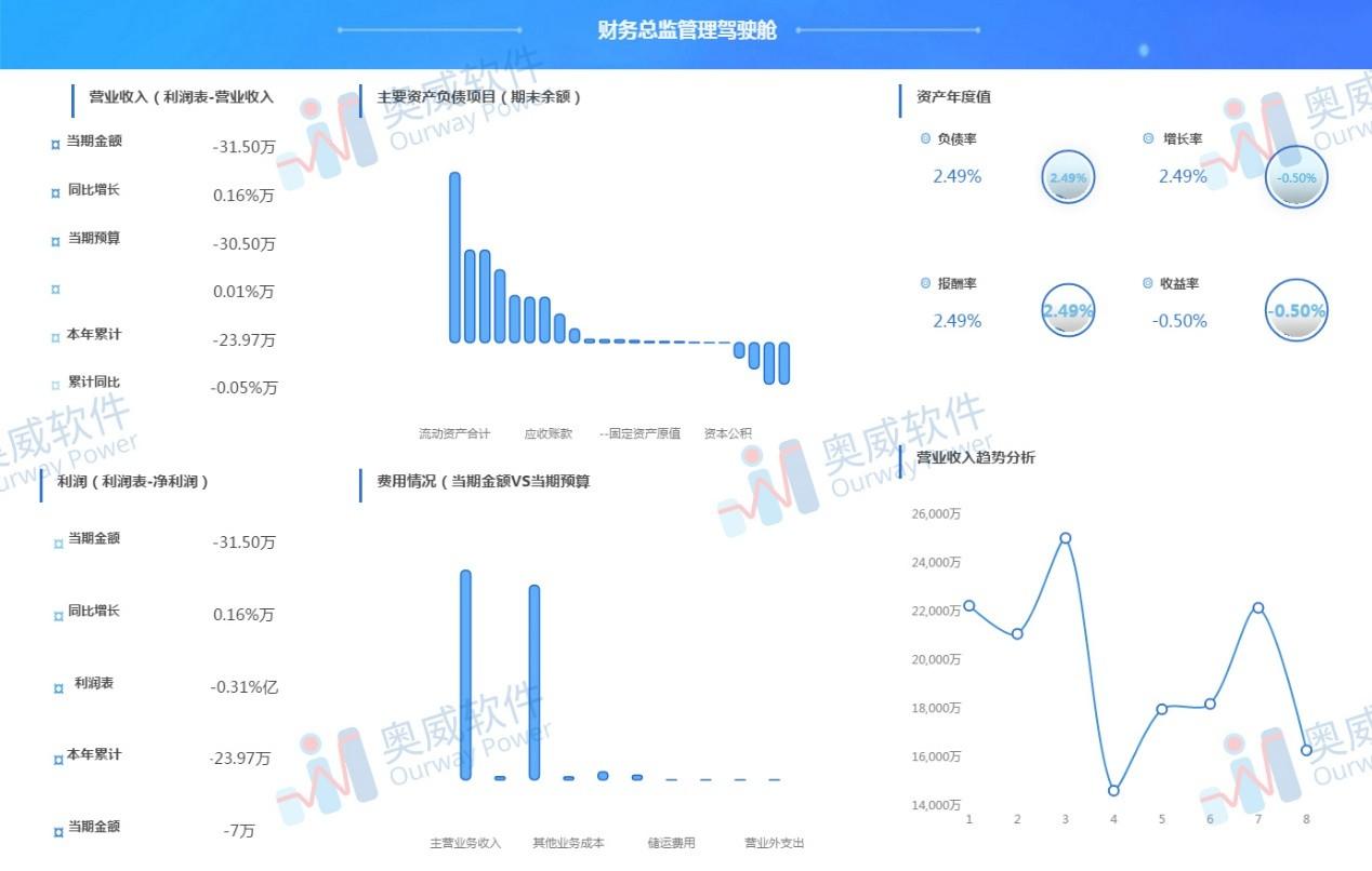 SpeedBI数据分析云-财务报表